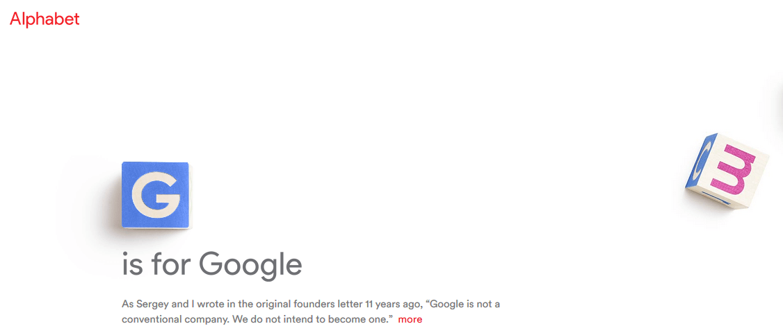 Google cambia su nombre a Alphabet y se reestructura - PWSystems