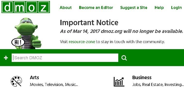 dmoz-directorio-web