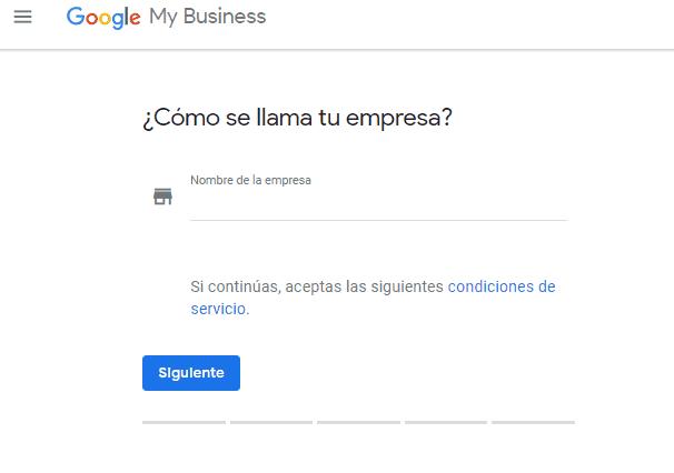 agregar nombre de empresa google my business