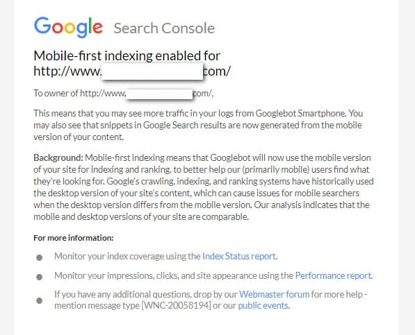 correo de google mobile first