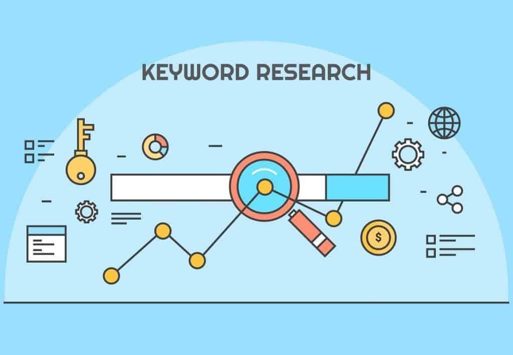 búsqueda de palabras clave