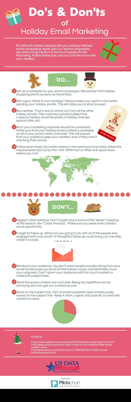 e-mail marketing en navidad infografia