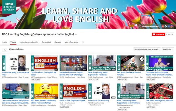 Empresas en YouTube