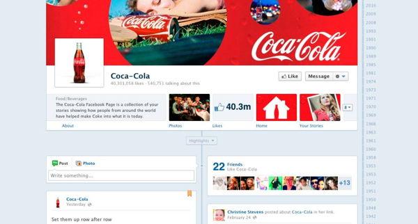 Empresas en facebook