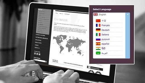 Cómo adaptar tu web para expandirte internacionalmente|recursos del idioma||internacionalización de una web