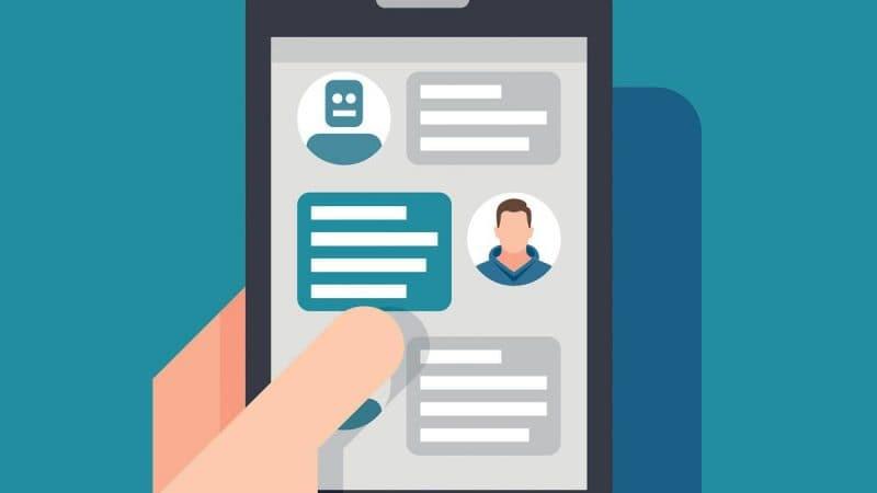 Chatbots como herramienta de marketing|mejorar la experiencia con chatbots|Ventajas del uso de los chatbots infografia