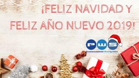 ¡Feliz Navidad y Feliz Año Nuevo 2019! (1)|¡Feliz Navidad y Próspero Año 2019! (1)