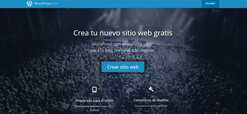 crear tu pagina web con wordpress