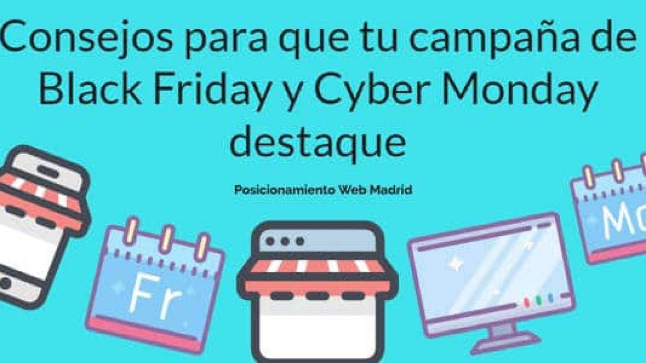 Campaña de Black Friday y Cyber Monday | Posicionamiento Web