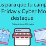 campaña de Black Friday y Cyber Monday destaque|consejos para tu campaña de Black Friday y Cyber Monday infografia