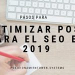 optimizar post para el SEO en 2019warming Optimizar post para el SEO en 2019 infografia