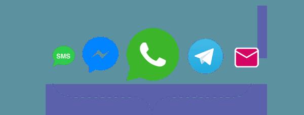 apps de mensajería instantánea