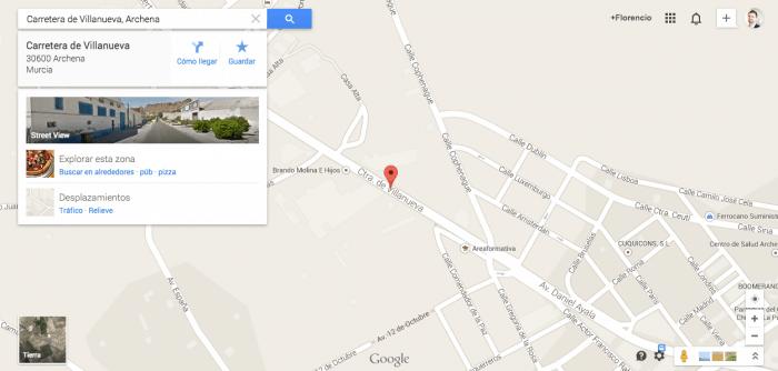 posicionarse en Google Maps
