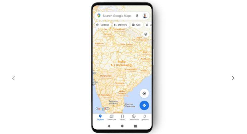 Google Maps mostrara actualizaciones sobre COVID-19