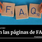 que son las paginas de FAQs