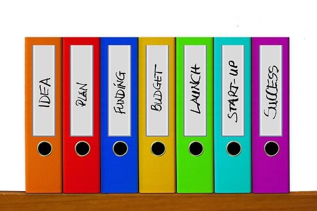 definir categorias del blog